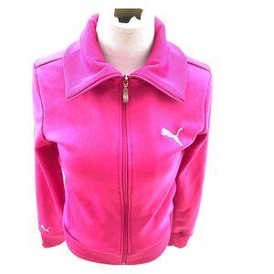 Puma hot pink jacket size small